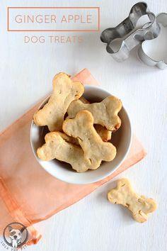 Ginger Apple Dog Treat Recipe