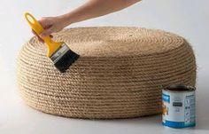 Solountip.com: Hacer un centro de mesa con una llanta usada