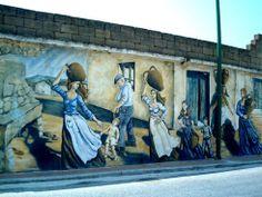 Murales in Sardegna. Irgoli, Nuoro