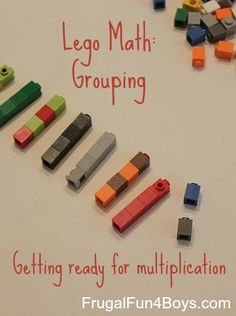 Math with Legos:  Grouping and Getting Ready for Multiplication