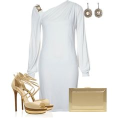 Versace Collection Jersey dress white - IN LOVE❤️❤️❤️