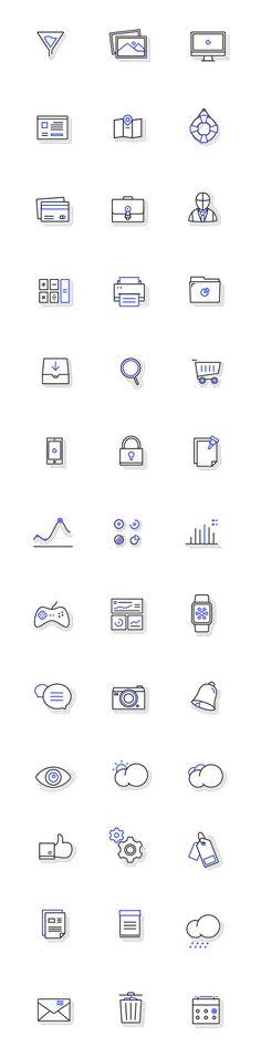 무료 아이콘 디자인소스 .PSD .AI Web Design, Sketch Design, Icon Design, Draw Logo, Simple Icon, Ios Icon, Icon Pack, Logo Design Inspiration, Icon Set