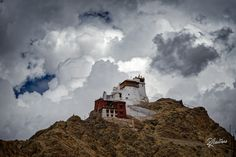 Palace in the Clouds Follow my Instagram for more! THe Royal Palace of Leh surrounded by the soft clouds of the Ladakh Skies, an image I will never forget!
