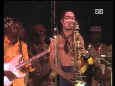 Fela Kuti & Egypt 80 [Arsenal TV3 Catalonian TV 1987-08-04] - YouTube