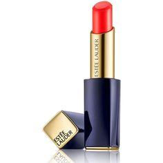 Estee Lauder Pure Color Envy Shine Sculpting Lipstick/0.12 oz. ($30) ❤ liked on Polyvore featuring beauty products, makeup, lip makeup, lipstick, lips, beauty, apparel & accessories, moisturizing lipstick, glossy lipstick and estée lauder
