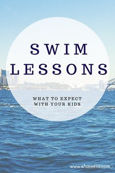 Why swim lessons are important and what you can expect from swim lessons for your kids.