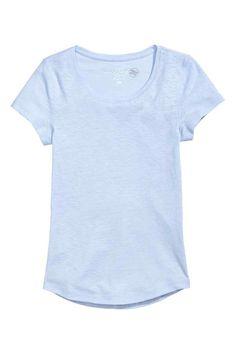 T-shirt em jersey flammé | H&M