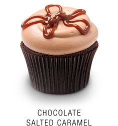 From Georgetown Cupcakes (DC Cupcakes on TLC) - the Salted Caramel Cupcake...this is an amazing lil' piece of cake!