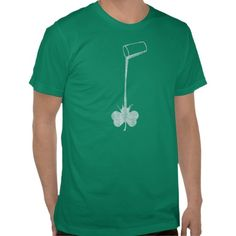 Irish Pour Shamrock T Shirt