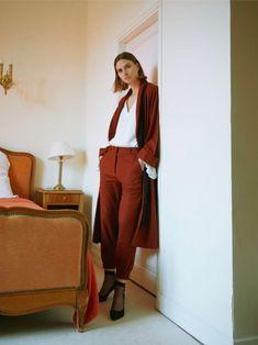 4c2b4a24d378a Le tailleur femme bordeaux by MyPhilosophy. Mode femme   Les vêtements  éthiques, écologiques et