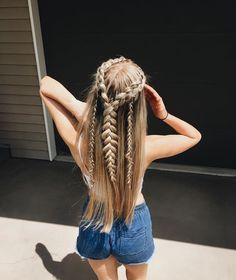 These braids are super adorable and easy