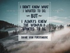 Woman I Wanted To Be Diane Von Furstenberg, Things I Want, Inspirational, Woman, Women