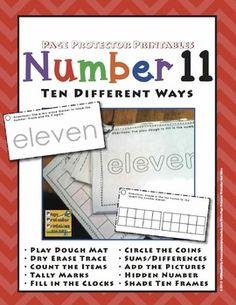 Number 11 Ten Different Ways
