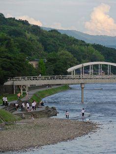 浅野川 水涼み
