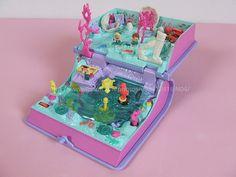 (1) polly pocket : Sparkling Mermaid Adventure ライトアップキラキラマーマイド | Sumally