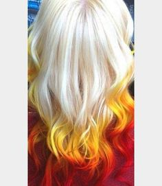 sunrise hair trend - Google Search