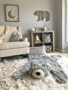 Bear rug nursery, Regular Size Grey Minky – mountain nursery, regular size Bear Rug, Woodland Nursery Rug Woodland Nursery Rug, Bear Rug for Nursery – Nursery Inspo Baby Bedroom, Baby Boy Rooms, Baby Room Decor, Baby Boy Nurseries, Baby Nursery Ideas For Boy, Baby Room Rugs, Babies Nursery, Baby Room For Boys, Unisex Nursery Ideas