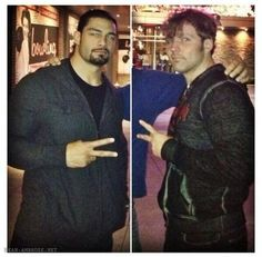 Rome and Dean :) The Shield Wwe, Dean Ambrose, Gorgeous Men, Rome, Fictional Characters, Fantasy Characters, Rome Italy