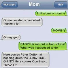 Funny text - Funny mom - http://www.jokideo.com/