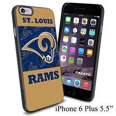 "NFL ST. LOUIS RAMS , Cool iPhone 6 Plus (6+ , 5.5"") Smartphone Case Cover Collector iphone TPU Rubber Case Black Phoneaholic http://www.amazon.com/dp/B00VWH3H9Q/ref=cm_sw_r_pi_dp_bg3nvb1WW5A4Z"