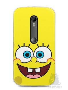 Capa Moto G3 Bob Esponja #2 - SmartCases - Acessórios para celulares e tablets :)