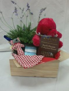 Wedding Gift Basket Australia : Baby Boy Gift Basket from SendabasketsaUnley. South Australia. www ...