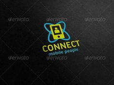 Connect - Mobile People Logo