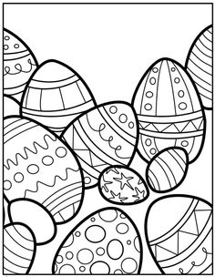 41 Best Easter Coloring Pages Images On Pinterest