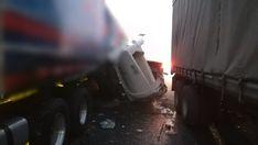 Multiple vehicle crash on claims 1