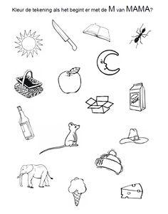 16 beste afbeeldingen van Moederdag - Werkbladen kleuters ...