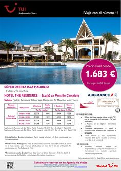 Súper oferta Isla Mauricio hotel The Residence (Lujo) Precio final desde 1.683€ ultimo minuto - http://zocotours.com/super-oferta-isla-mauricio-hotel-the-residence-lujo-precio-final-desde-1-683e-ultimo-minuto-12/