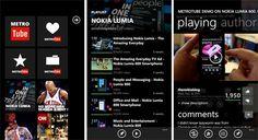 Metrotube para Nokia Lumia 900 / 800 / 710 / 610 http://www.aplicacionesnokia.es/metrotube-para-nokia-lumia-900-800-710-610/