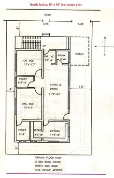 3 bedroom vastu house plans Google Search Casita