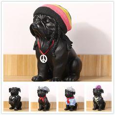 French Bulldog Dog Ornaments Figurine