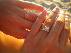 """Two brides...twice the sparkle!"" -Cassie C. #ShowUsYourSparkler"