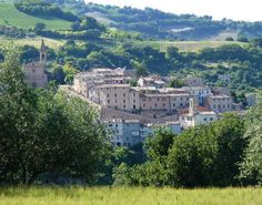 FROM here. Cartoceto, Le Marche, Italy. Nonno Bissoni was born here, we tracked down his cousin and they cooked us Pasta!
