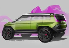 SUV's and Baja racers! on Behance