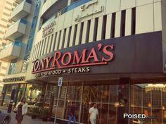 Poised In Print™ – American Food in Dubai; Tony Roma's