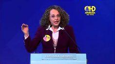 Luciana enfrenta Aécio e denuncia corrupção do PSDB