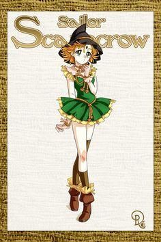 sailor scarecrow by drachea rannak Sailor Moon Girls, Sailor Moom, Sailor Moon Fan Art, Sailor Moon Character, Sailor Moon Manga, Arte Disney, Disney Fun, Disney Movie Collection, Sailor Princess