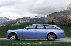 2012 Rolls-Royce Pantom Silver Brake wagon concept