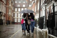 London Is Hit By Torrential Rain As July Becomes A Washout