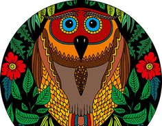 """Check out new work on my @Behance portfolio: """"Owl?!"""" http://be.net/gallery/31163457/Owl"""