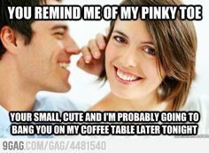 INGENIUS PICK UP LINE. - totally have to remember this ƒør Will... we always say stupid/cheesy pick up lines to each other. :)