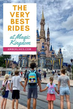 Insider's guide to the best attractions at Magic Kingdom at Walt Disney World. Best rides for babies, toddlers, kids, teens, and adults! #disney #disneyworld #disneymom #magickingdom #disneytips All Disney Parks, Walt Disney World Orlando, Disney World Secrets, Disney Cruise Tips, Disney Vacation Club, Disney Vacation Planning, Disney World Planning, Disney World Tips And Tricks, Disney Vacations