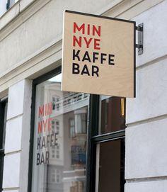 sign / min nye kaffebar