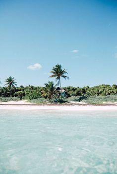 Beach shacks at the southern end of Tulum beach looks like mermaid heaven! #finfun #mermaids #mermaidtail