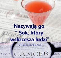 zdrowie.hotto.pl-sok-ktory-wskrzesza-ludzi-na-raka-depresje Healthy Juice Drinks, Healthy Juices, Smoothie Drinks, Smoothies, Healthy Beauty, Health And Beauty, Healthy Life, Alkaline Foods, Polish Recipes