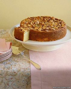 Almond Semolina Cake Recipe