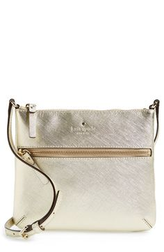 Spying with the little eye, something cute, shiny and crossbody. This kate spade bag, sure is something special!